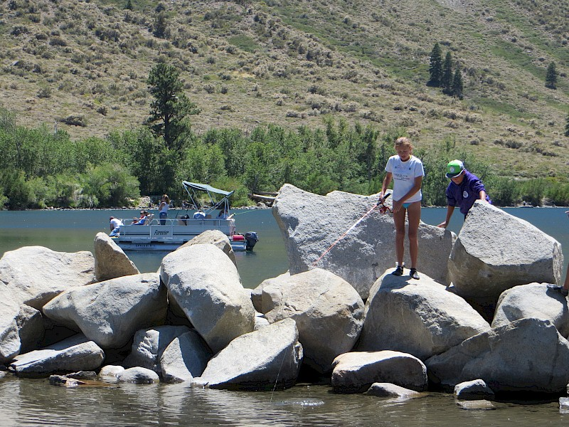 No Hot Water >> Convict Lake Campground   Recreation Resource Management