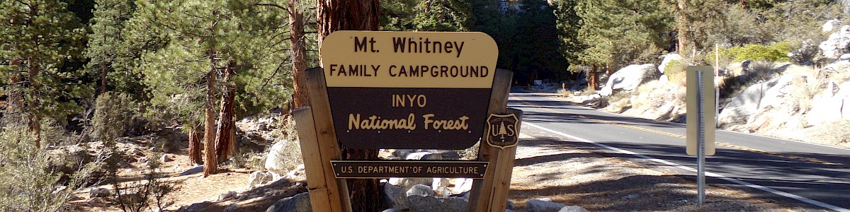Mt. Whitney Portal Campgrounds